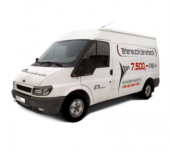 Ford Transit White